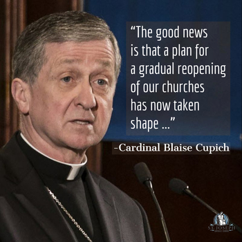 Reopening Plans: Letter from Cardinal Cupich
