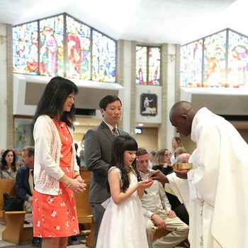 first communion july 25