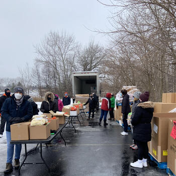 Drive-Through Mobile Food Pantry