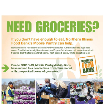 Volunteers Needed At Food Bank Mobile Pantry in North Chicago
