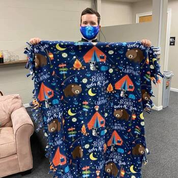 Project Linus Makes Blankets for the Less Fortunate