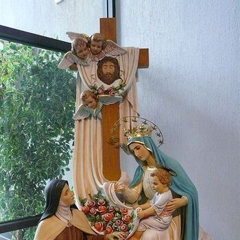 """Tour of St. Therese """"Little Flower"""" Shrine"""