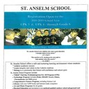ST. ANSELM SCHOOL REGISTRATION IS NOW OPEN FOR SCHOOL YEAR 2018-2019. CLICK HERE