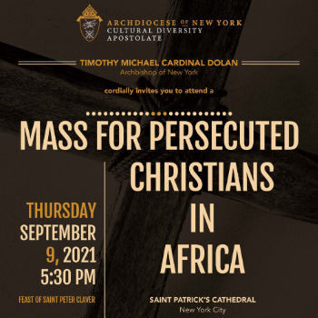 Mass for Persecuted Christians in Africa