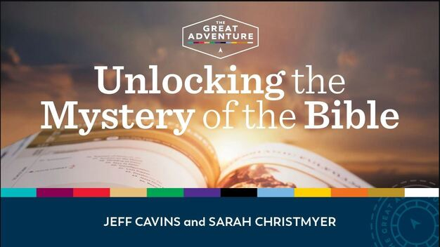 Unlocking the Mystery of the Bible logo