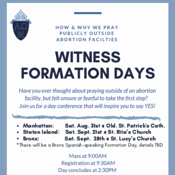 Witness formation day – Bronx