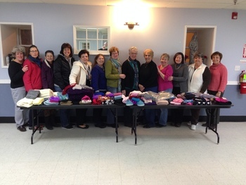 Ladies Auxiliary Contributes to Catholic Charities