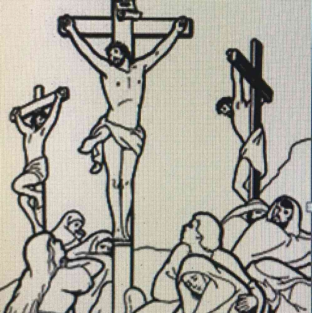Image result for crucifixion clipart images