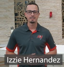Courageously Living Article featuring Izzie Hernandez