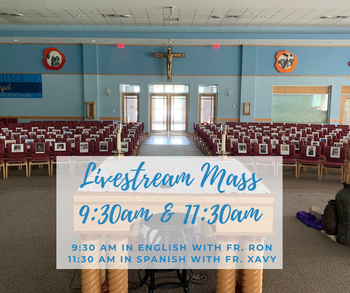 Palm Sunday Livestream Masses
