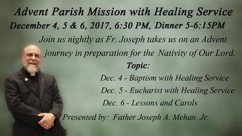 Advent Mission - With Father Joseph
