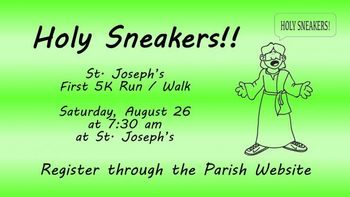 Holy Sneakers 5K!! Run / Walk - Last Day to Register to be Guaranteed a T-shirt