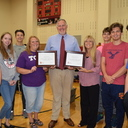 SETON CATHOLIC IS CBC'S MOST HONORED BLOOD DRIVE HIGH SCHOOL