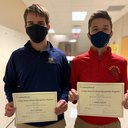 National Recognition for Two SCHS Seniors!