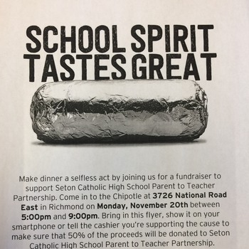Chipotle Fundraiser!