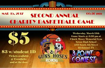 Guns & Hoses Charity Basketball Event