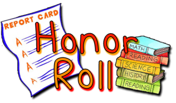 Elementary 1st Quarter Honor Roll