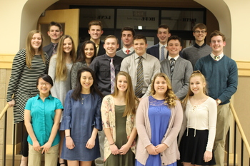 National Honor Society Inductees!
