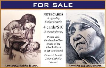 Hand Drawn Cards Available