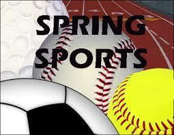 Spring Sports Schedules Announced