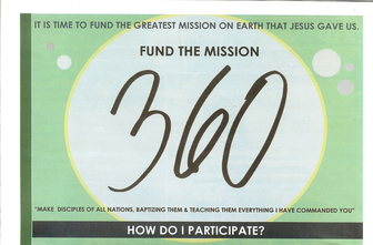Fund the Mission! Limited Opportunities