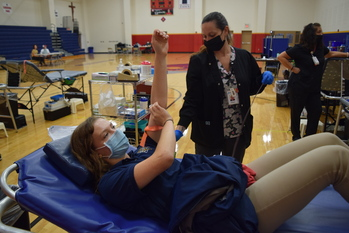 NEW YEAR, NEW PROMISE AS SETON CATHOLIC HOSTS FIRST BLOOD DRIVE
