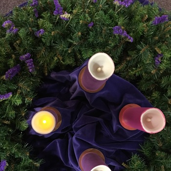 Blessing of Advent Wreath Celebrated