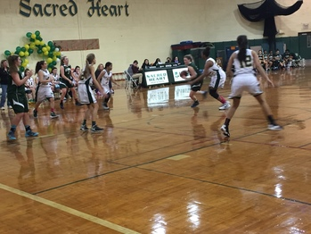 Lady Irish Triumph Over Barnabas in Conference Opener, 46-39