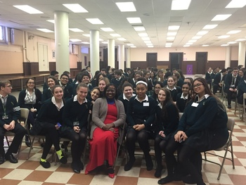 Sacred Heart Hosts Catholic Relief Services Speaker for Pro-Life Day