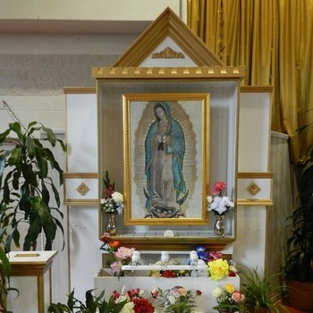 Celebration of Our Lady of Guadalupe (Beginning with 7:00 PM Mass)