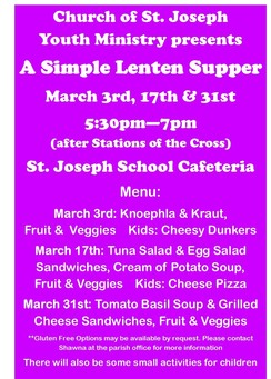 Simple Lenten Supper