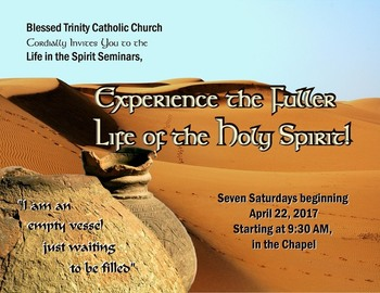 Life in the Spirit Seminars