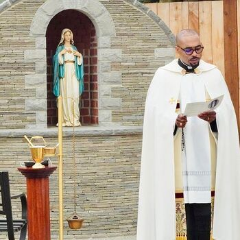 St. Catherine Welcomes Father Dean