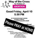 Way of the Cross for Victims of Abortion