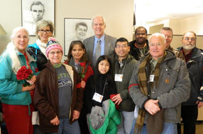 Representative Hargrove visits with pro-life District 47 constituents