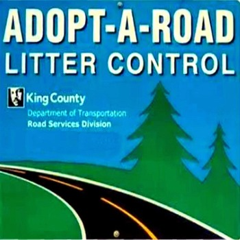Adopt-a-Road Clean-up of 192nd St