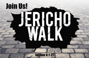 Jericho Walk Prayer
