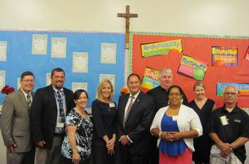 Cathedral School of St. Jude Welcomes Lawmaker for Meeting with Parents of Scholarship Students