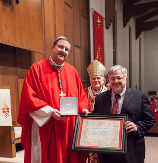 Papal Honor Presented to Dale Recinella
