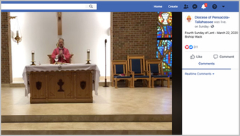 Florida Dioceses and Parishes Offer Prayer and Virtual Mass Opportunities
