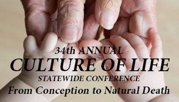 Culture of Life Conference to be Held Virtually, October 24, 2020
