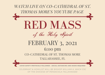 46th Annual Red Mass to be Celebrated in Tallahassee