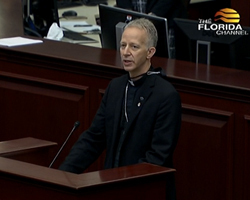 Bishop Wack Opens House Session with Prayer
