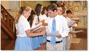 St. Elizabeth continues Sodality tradition