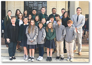 Area Catholic students showcase achievements and participation in a number of activities