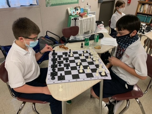 Encouraging Talent.....   MBS Begins Chess Club
