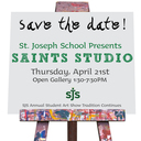 SJS Annual Student Art Show is Back April 21st