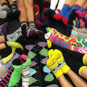 "Saints ""Rock the Socks"" and Raise  <br />Over $1,000 for Children in Need"