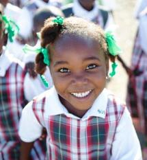 SJS Donates Old Uniforms to School in Haiti