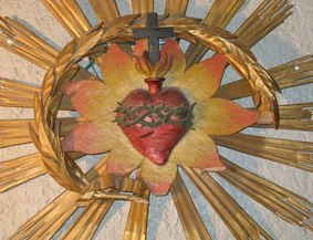 Zapped by the Sacred Heart of Jesus: Sacred Heart Talk Nov 6th